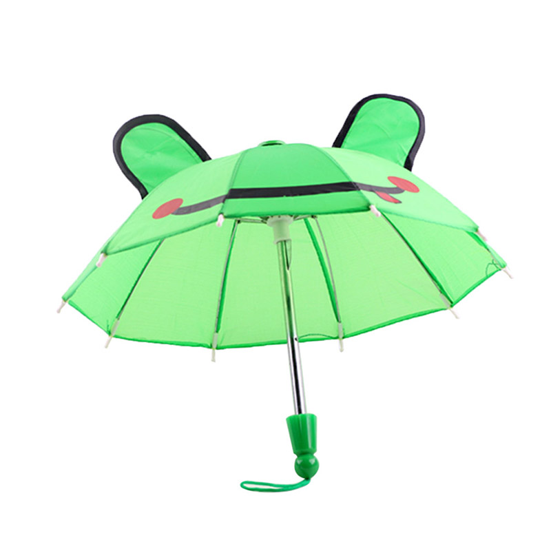 Beautiful Umbrella Accessories Kids Girls Gifts Suitable for 18inch American Girl Doll JAN88(China)