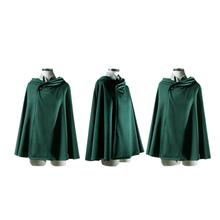2018Halloween Party Costume Anime Freedom Wing Long Cape Cape Attacking Giant Cosplay Hoodie Green Men's Jacket Cloak coat attacking rural poverty