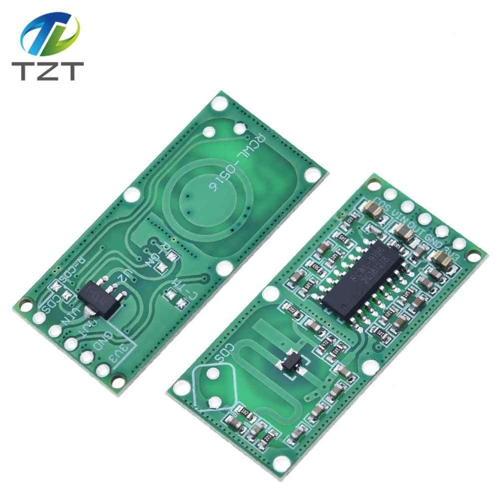 RCWL-0516 sensor de radar de microondas Módulo de inducción del cuerpo humano interruptor módulo inteligente sensor