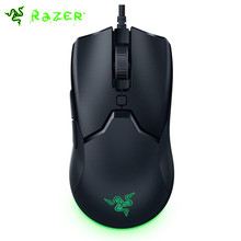 Razer viper mini gaming mouse 61g ultra-leve design chroma rgb luz 8500 dpi optail sensor ratos