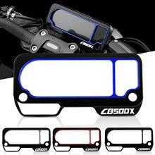 Copertura della protezione della custodia del misuratore dello strumento dello schermo del telaio del motociclo accessori in alluminio per Honda CB500X CB 500 X CB500X 2019 2020 2021