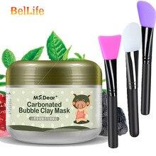 купить MS.Dear Carbonated Bubble Clay Korean Mask For The Face Tony Moly Dispel Black Head Face Masks Moisturizing Whitening Face Care онлайн