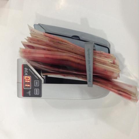 maquina de contagem ac ou bateria detector para loja