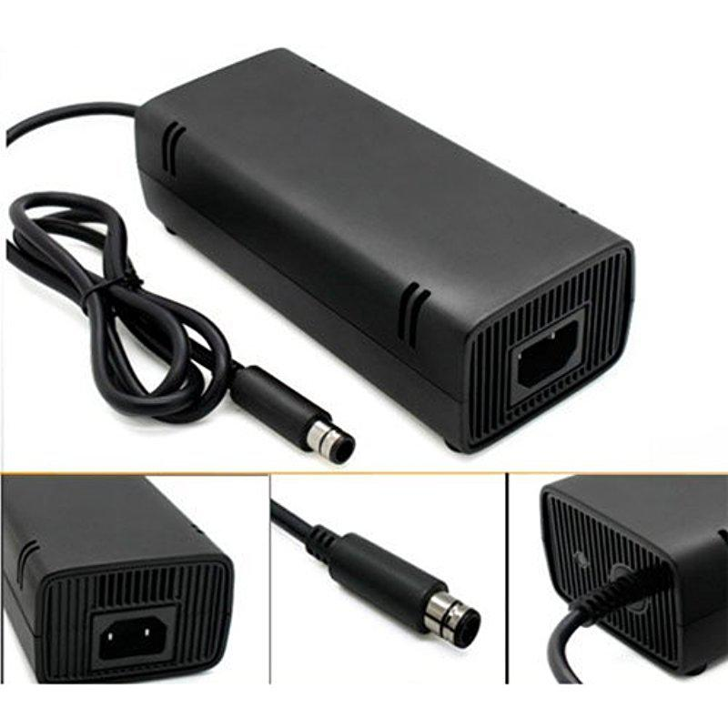 EastVita 12V AC Adapter Power Supply Cord Charger for XBOX 360 E Game Console-US Plug-Black r42