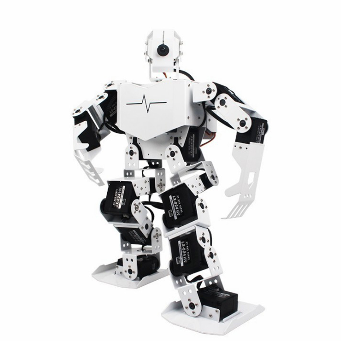 Humanoid Robot Raspberry-4b-2g WIFI Smart-Vision Video/programmable-Opencv Tonypi