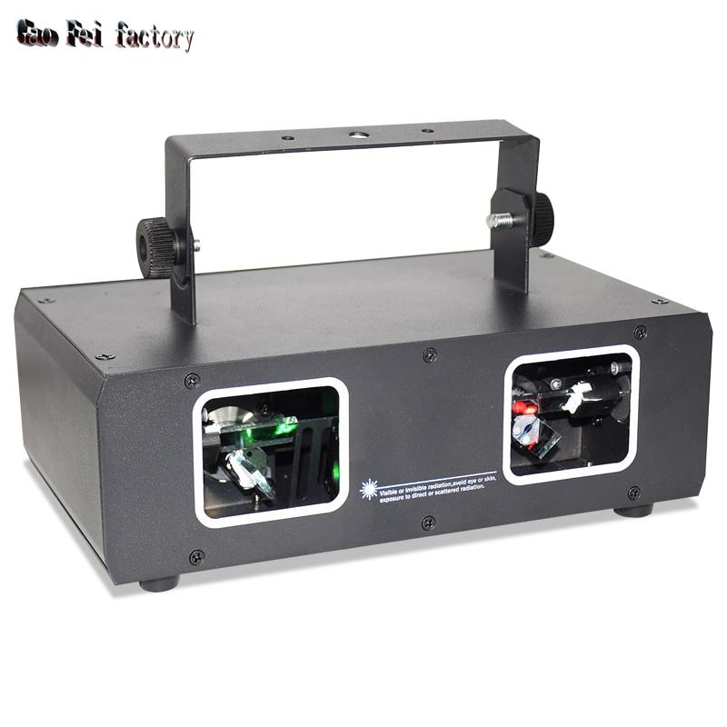 Disco Laser Beam Light 2 Lens Projector Lighting Gadgets