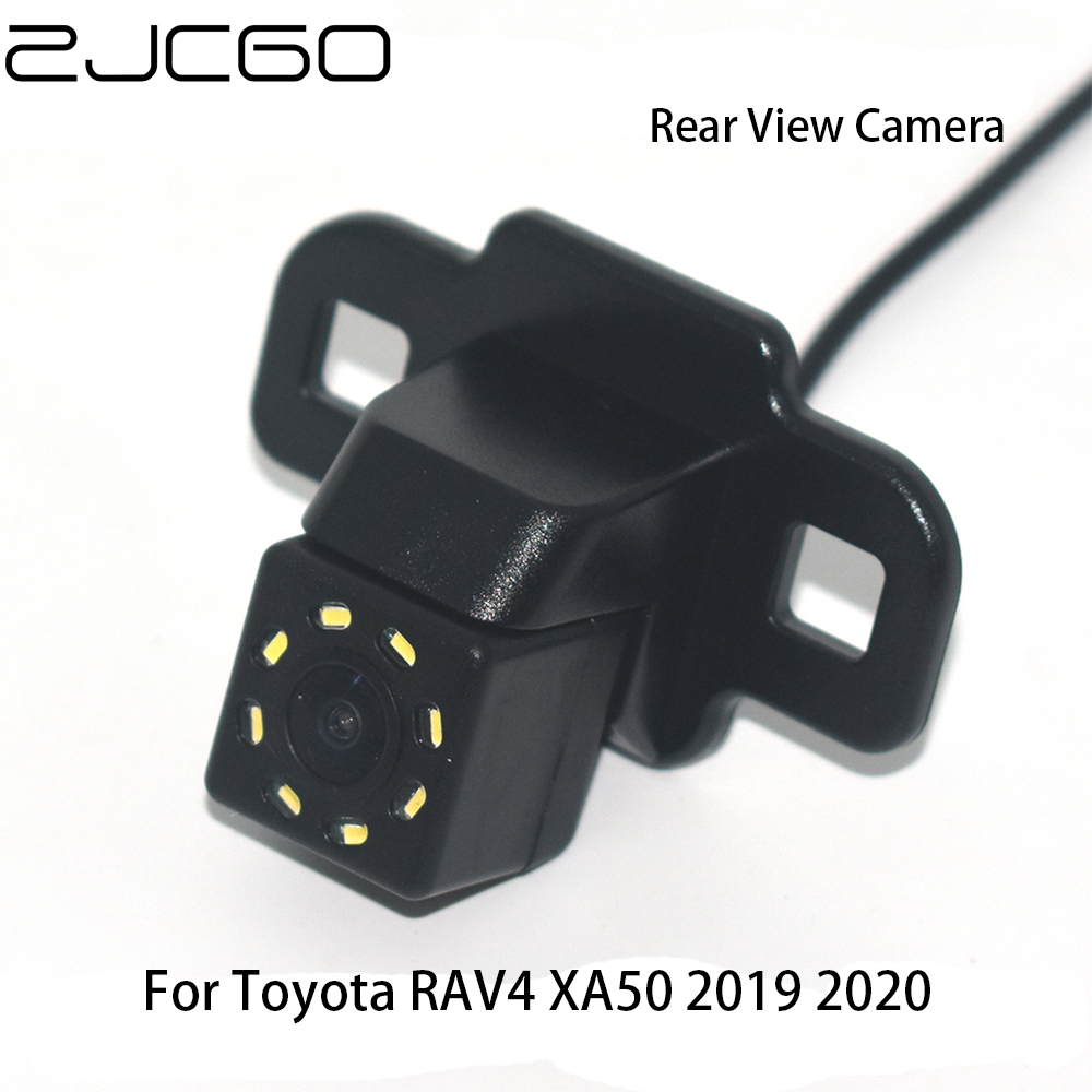 ZJCGO CCD Car Rear View Reverse Back Up Parking Night Vision Waterproof Camera for Toyota RAV4 XA50 2019 2020 image