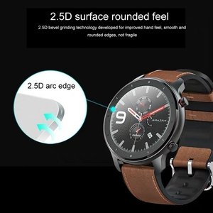 Image 2 - OLLIVAN Glass For Amazfit GTR 47 Tempered Glass For Xiaomi Amazfit GTR 47MM 42MM Screen Protector Full Edge Cover 2.5D Glass