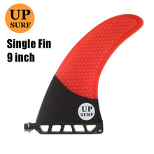 9 inch firberglass carbon single fin paddle board surfboard sup fin stand up paddle longboard fin sup board upsurf free shipping 100% carbon fibre sup surf paddle carbon paddle stand up surfboard paddle