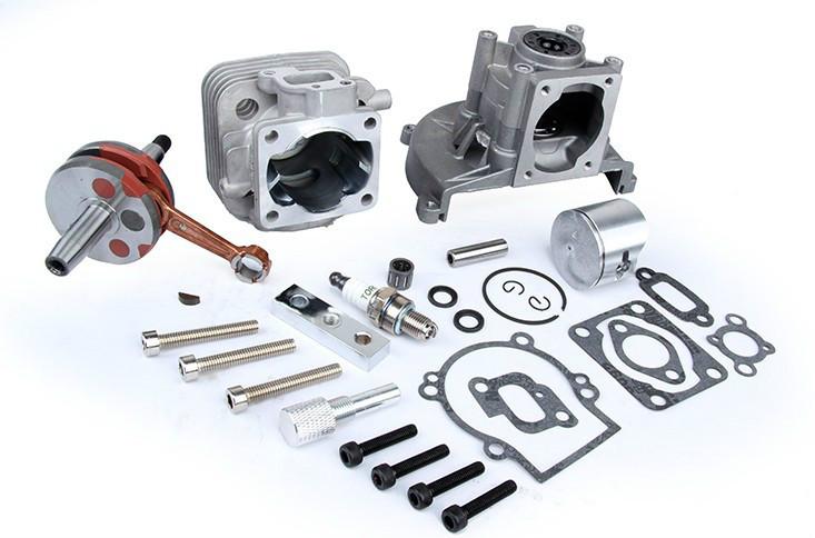 30 5cc Engine 4 Bolt Engine Crank Kit From 2 Bolt To 4 Bolt For 1 5 Scale Hpi Km Baja 5b 5t 5sc Losi Parts Engine Parts Baja Engineset 4 Aliexpress