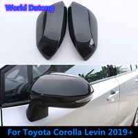 Car Door Side Wing Rearview Mirror Case Side Mirror Cover Trim for Toyota Corolla 2019 2020