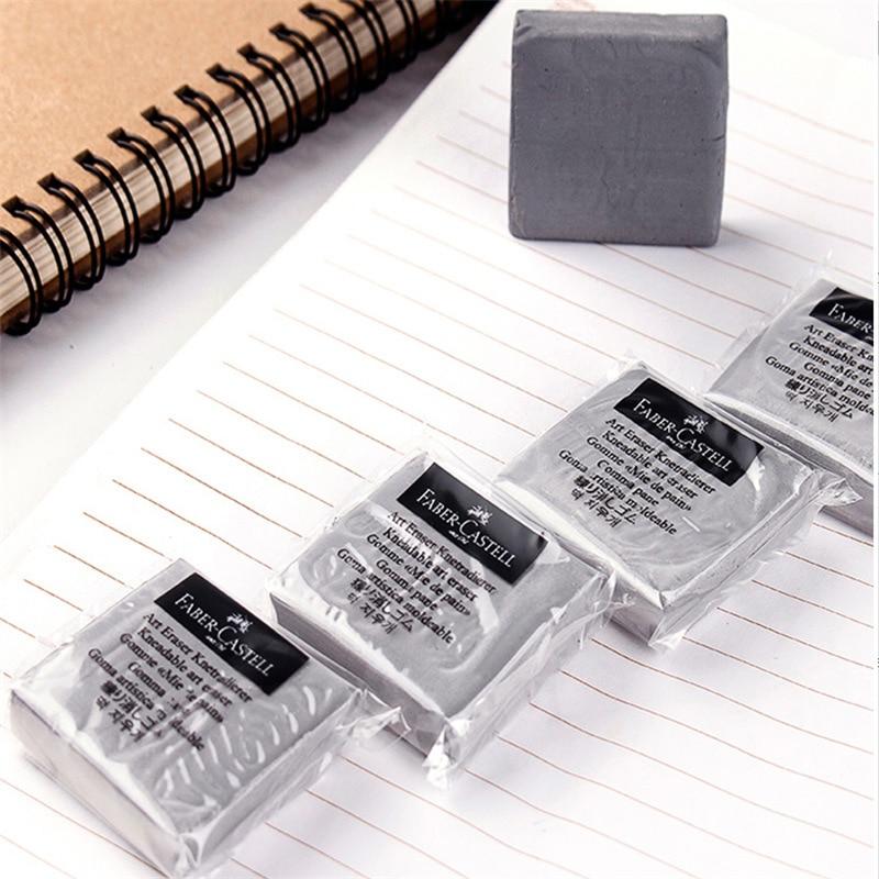 1 шт. Faber Castell мягкий резиновый ластик для студентов Рисование эскиз изюминка новинка карандаш из пластилина ластик товары для рукоделия