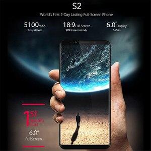 Разблокированный смартфон UMIDIGI NOA-N8 4G LTE, 4 Гб ОЗУ, 64 Гб ПЗУ, полный экран 6,0 дюйма, 5100 мАч, Восьмиядерный Helio P20, сотовые телефоны со сканером отпечатков пальцев