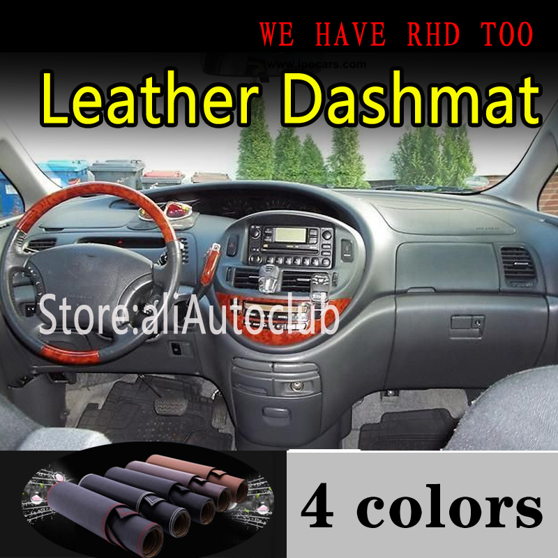 For TOYOTA PREVIA Estima 2001 2002 2003 2004 2005 Leather Dashmat Dashboard Cover Dash Mat Sunshade Carpet Car Styling Car Auto