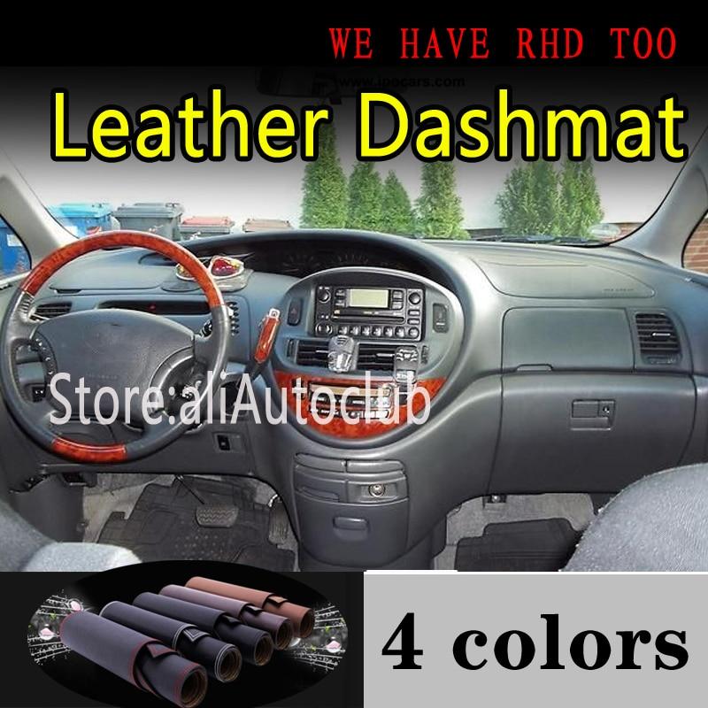 For TOYOTA PREVIA Estima 2001 2002 2003 2004 2005 Leather Dashmat Dashboard Cover Dash Mat Sunshade Carpet Car Styling Car Auto