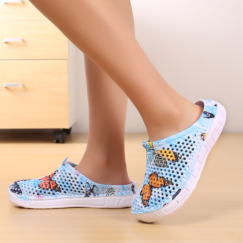 Women Summer Slip 0n Quick Dry Lightweight Breathable Water Clogs Shoes For Beach Swimming
