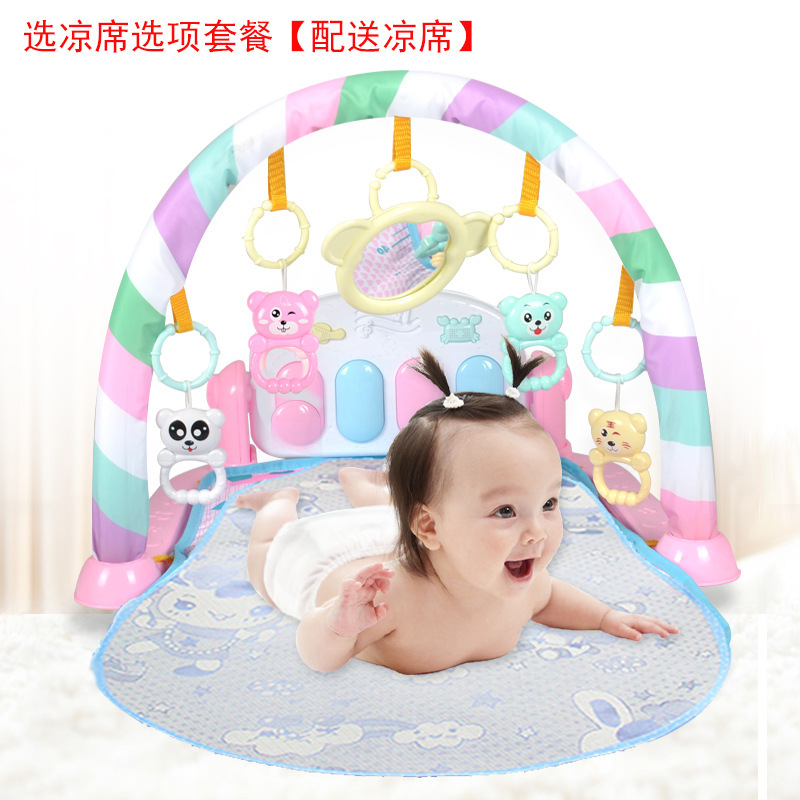 Children Rug Toy 0-18 Piano Baby Month Fitness Rack Pedal Early Education Non-Story Machine Music