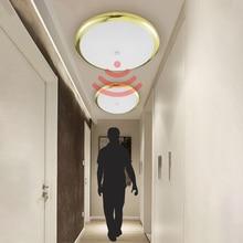 Zerouno Hal Gang Gangpad Trap Motion Sensor Led Plafondlamp Moderne Verlichting 18W 30W 32W Keuken Badkamer plafond Lamp