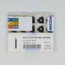 Seco 218.19-160t-04-m08 mp2500 inserções de carboneto 10 peças