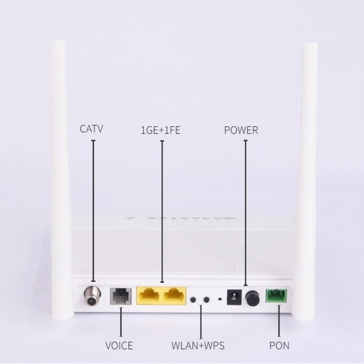 BTPON Xpon Gpon Ont 1ge Catv Wifi Catv Router 1catv+1ge+1fe+tel Pon Catv Epon Onu BT-211XR