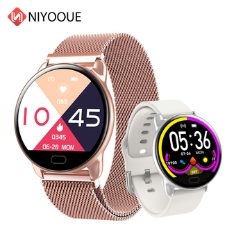 Female Fitness Smart Watch K9 Women Running Heart Rate Monitor Bluetooth Pedometer Smartwatch 2020 Clock reloj inteligente image