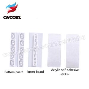 Image 3 - 1Pcs I shaped Insert Type Socket Fixer Removable Self adhesive Wall Hanging Type Home Improvement Supplies Socket Fix sticke