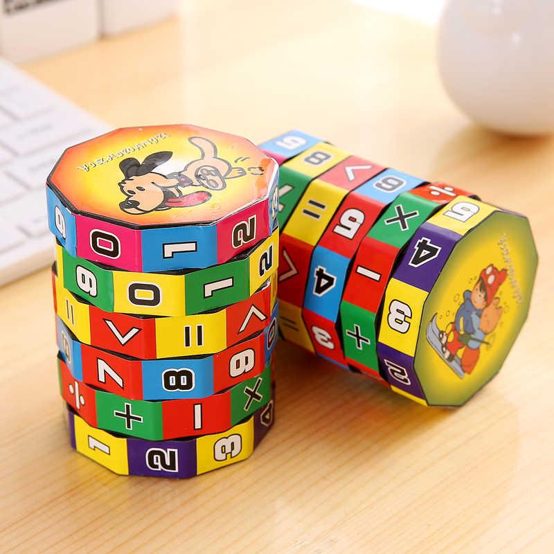 1/3PCS Party Kleine Geschenken Digital Cube Speelgoed Kinderen Leren Speelgoed Slides Puzzel Math Cubes Terug naar School kerstcadeaus