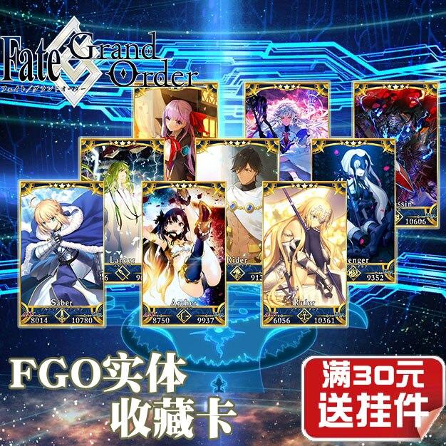 Fate/Grand orden FGO juguetes pasatiempos Hobby coleccionables juego colección cartas de anime Todas las LGD de Eve de Hallow alargan el ProxyKing de mago 8,0 VIP las tarjetas proxy para recoger cada tarjeta de mg.