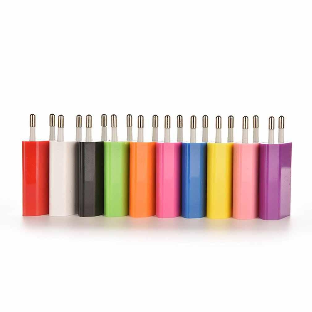 USB 壁の充電器充電器アダプタ 5V 500MA 単一の Usb ポート急速充電器ソケットの iphone のための電話
