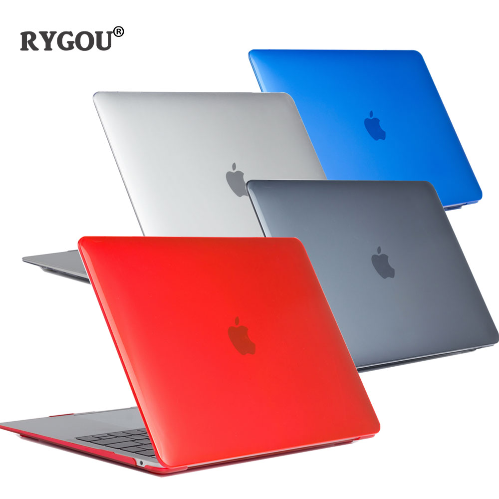 For New Macbook Air 13 Case + Keyboard Cover For Apple Macbook Air Pro Retina 11 12 13 15 16 Mac Book 15.4 13.3 inch Laptop Case