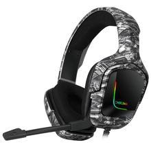 Gaming Headset Over-Ear-Headphones Surround-Sound Onikuma K20 Computer Volume-Control