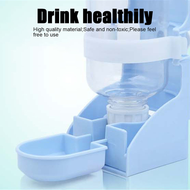 500ML Pet Feeding Dispenser For Rabbits- Dogs- Cats- Hamsters- Parrots 2