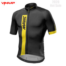 MAVIC Pro Cycling Jersey Man Mountain Bike Clothing Quick-Dry Racing MTB Bicycle Clothes Uniform Breathale Cycling Clothing Wear