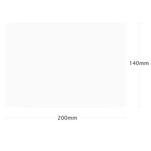 4 arkusze folia fep 140X200mm DLP LCD SLA żywica 3D drukarki dla Elegoo Mars Wanhao duplikator D7, Photon