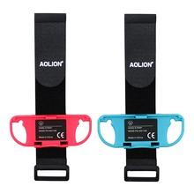 2pcs Hand Strap Breathable Adjustable Small Controller Handle Holder Bracket Belt Wristband Dancing