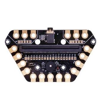 Microbit Expansion Board Micro:bit Development Board IO Port DIY Multi-Function for Building Block acs800 inverter io board control rmio 11c motherboard 15 22 30 45 75 55kw