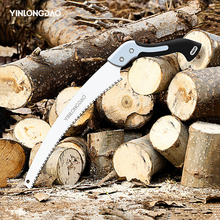 Folding Cutting Hand Folding Mini Saw with TPR Handle Collapsible Saw for Wood Garden Dry Wood Pruning Saw with Hard Teeth DIY