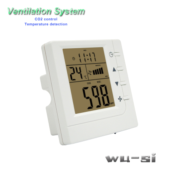 Indoor air quality monitor CO2 regulator with RS485 new mh z19 0 5000ppm infrared co2 sensor for co2 indoor air quality monitor