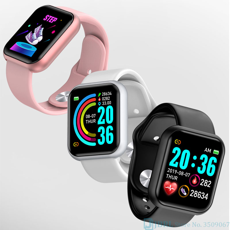Squae Silicone Digital Watch Men Sport Women Watches Electronic LED  Lady Male Wrist Watch For Men Women Clock Female Wristwatch