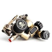 1 peça máquina de tatuagem do crânio máquina de tatuagem rotativa forro & shader máquina de tatuagem elétrica arte do corpo