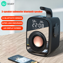 Subwoofer Speakers Outdoor Sound-Box-Support Fm-Radio Heavy-Bass Big-Power Portable Wireless