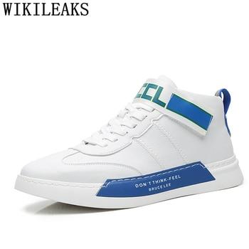 Zapatillas deportivas de cuero para Hombre, calzado deportivo de lujo, de alta...