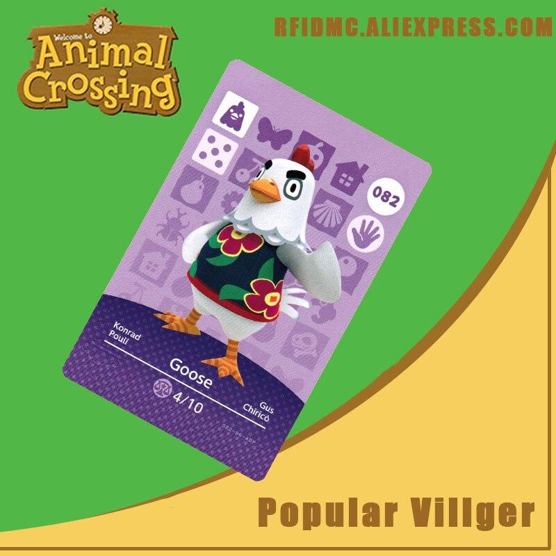 082 Goose Animal Crossing Card Amiibo For New Horizons