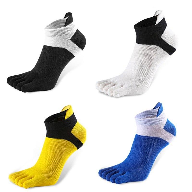 Men Socks Boys Cotton Finger Breathable Five Toe Socks Pure Sock Men\'s Socks Newest