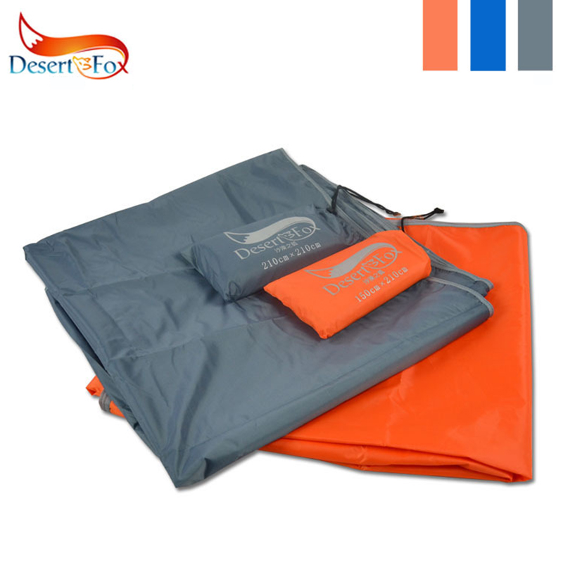 Desert&Fox Waterproof Tent Floor Tarp Picnic Mat Ultralight Pocket Tent Footprints Beach Tarp With Sack For Camping Hiking