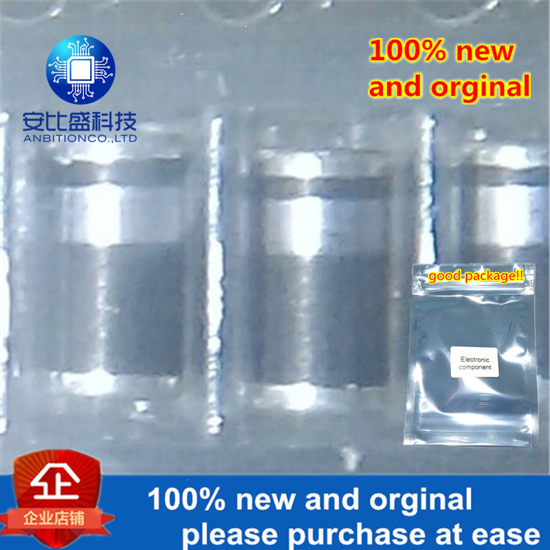 100pcs 100% New And Orginal SM4001 LL4001 Glass Passivated Silk Screen White Ring  In Stock