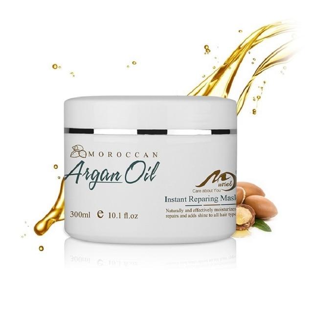 300ml Magical keratin Hair Mask Moisturising Cream Morocco Argan Oil Repairs Hair Damage Restore Soft Hair Care Mask Hair 1