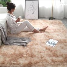 Area Rug Mats Carpet-Printed Floor Faux-Fur Living-Room Plush Shaggy Silky Alfombra RULDGEE