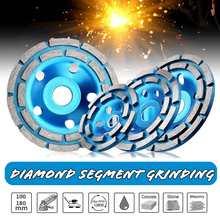 100/115/125 /180mm disco de moagem diamante abrasivos ferramentas de concreto moedor diamante roda metalurgia rodas corte copo serra
