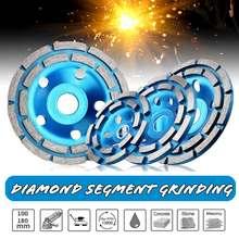 100/115/125 /180MM Diamond Grinding Disc Abrasives Concrete Tools Diamond Grinder Wheel Metalworking Cutting Wheels Cup Saw